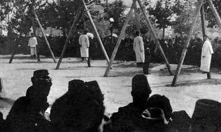 Les victimes de génocide