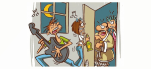 Victime de nuisances sonores