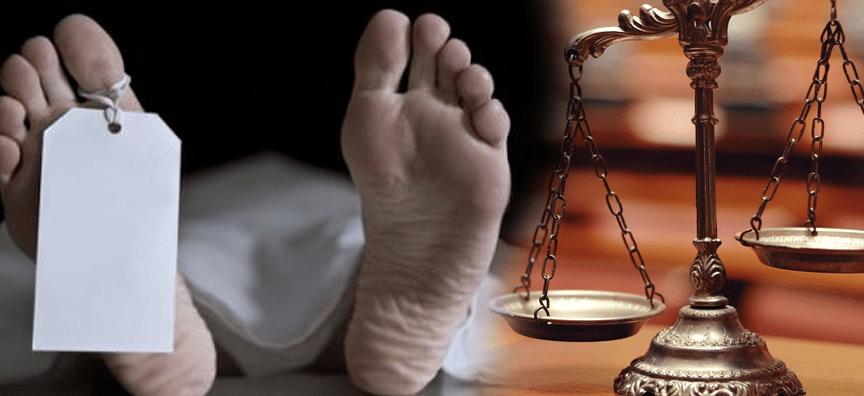La mort en droit pénal
