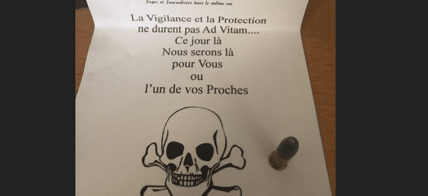 Victime de menaces de mort
